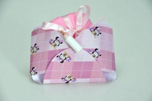 BN 022 - P. rosa bb c ft rosa bb nº1 c fralda (2) R$ 5,00